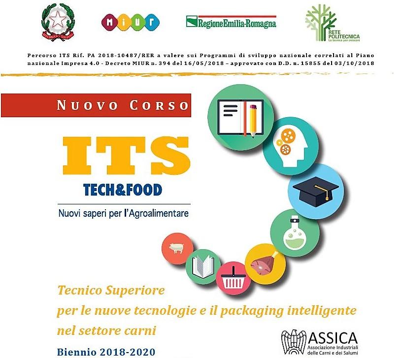 Nuovo corso ITS Tech&Food: iscrizioni aperte!