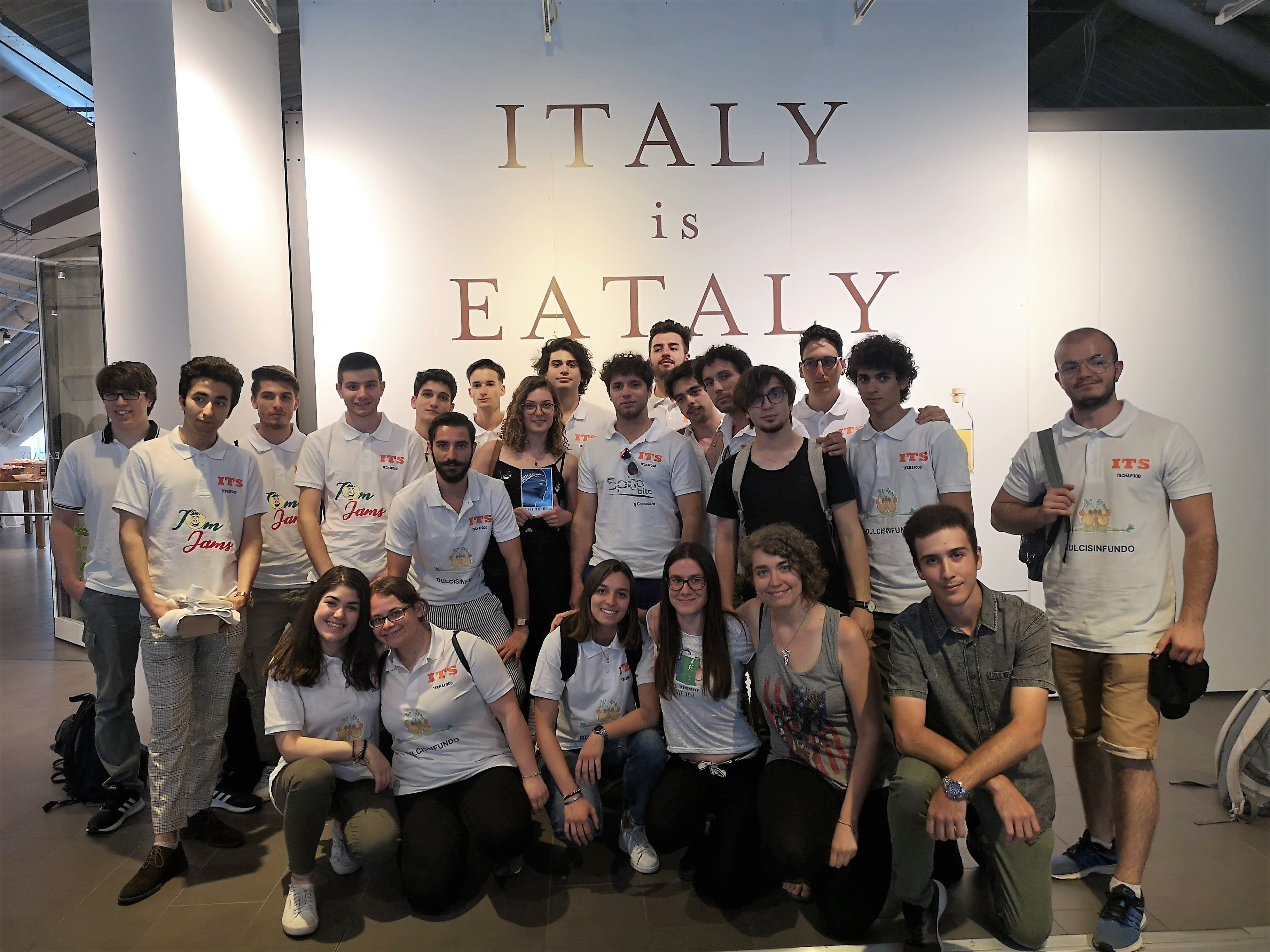I ragazzi ITS T&F classificati primi al concorso Ecotrophelia Italia