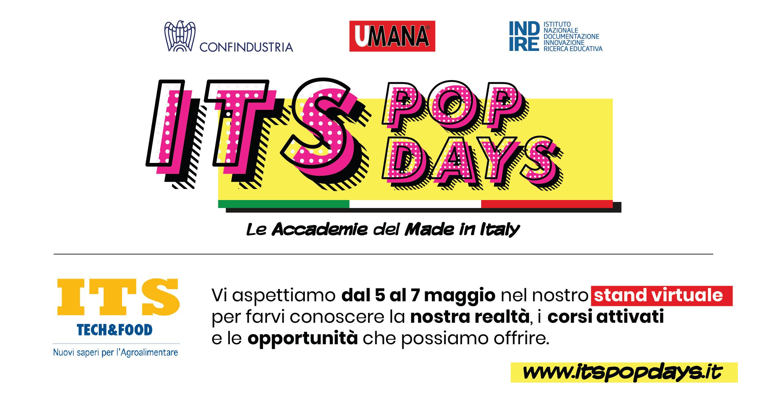 ITS POP DAYS – 5,6,7 maggio